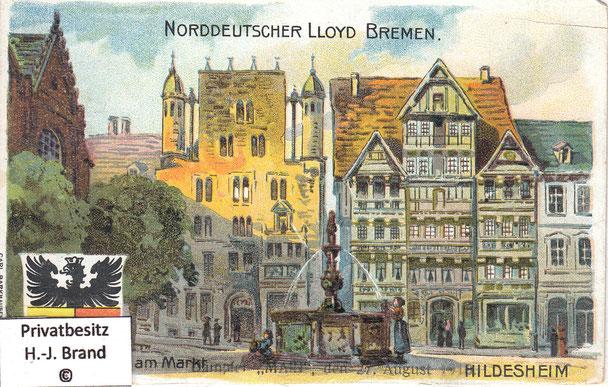 Norddeutscher Lloyd Bremen: Dampfer MAIN, den 27. August 1919