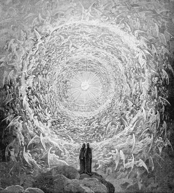 Gustave Doré: Das göttliche Licht/ Paradisco Canto, 19. Jahrhundert