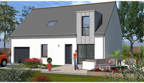 Maisons Kernest, votre constructeur pour construire sa maison sur un terrain à Cournon (56200) , communauté de communes deLa Gacilly