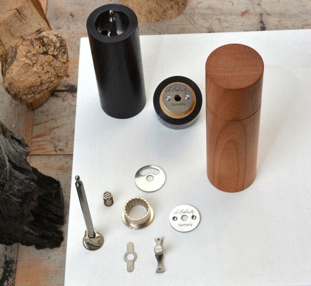 Peugeot Mahlwerk oder eine Alternative? Gehärteter Stahl aus der Schweiz für Beständig Design Pfeffermühlen