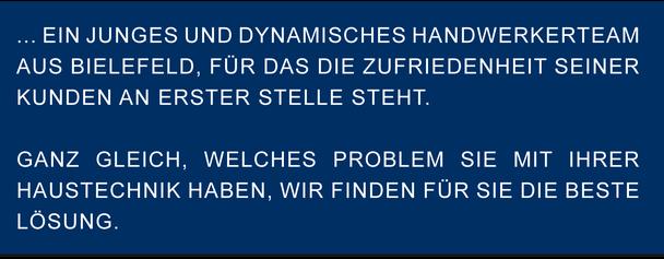 ein junges dynamisches Handwerkerteam aus Bielefeld Meisterbetrieb Friedrich