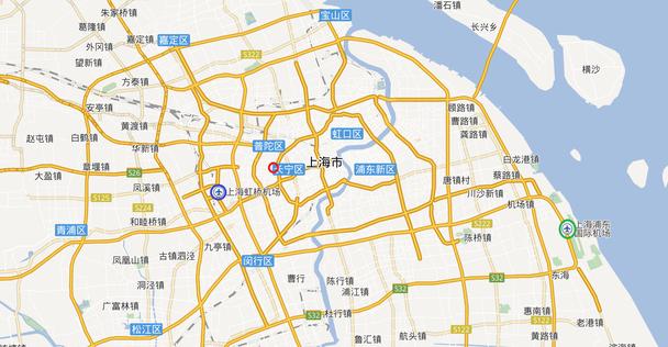 中国上海 華東師範大学へのアクセス方法 フライト情報