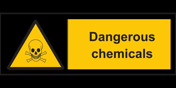 Gefährdungsbeurteilung zu Gefahrstoffen,  zu Chemie und Reinigungsmittel