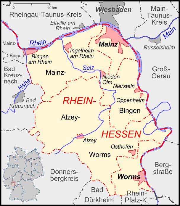 Rheinhessenkarte