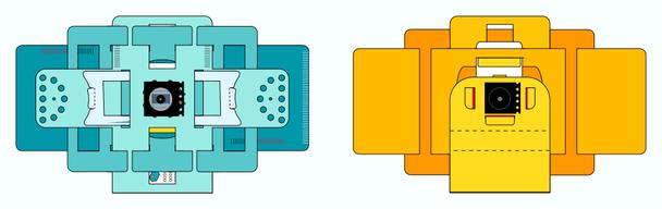Polarisationsfilter am Foldscope