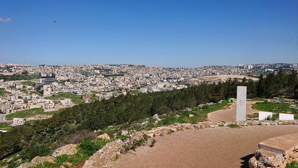 The view of Nazareth from Mount of Precipice