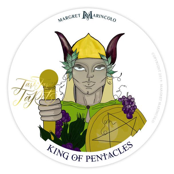 König der Münzen im Tarot