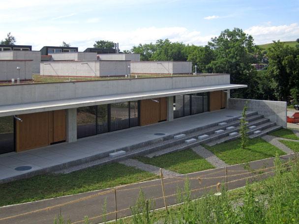 Architekturbüro Silke Hopf Wirth & Toni Wirth Architekten ETH HTL SIA Winterthur, Neubau / Umbau Erweiterung Schulhaus Steinboden, Eglisau. Schule Eglisau