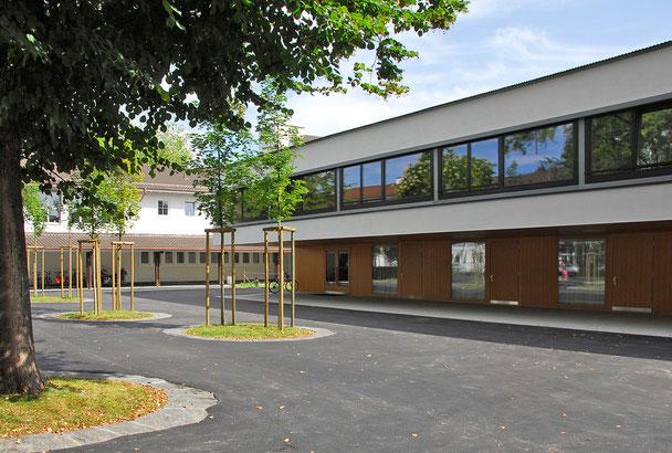 Hopf & Wirth Architekten ETH HTL SIA Winterthur: Neubau Erweiterung / Umbau Schulanlage Feld, Winterthur