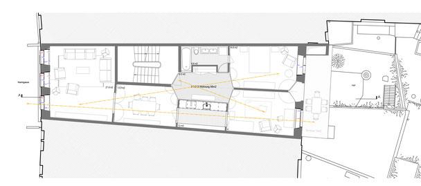 Umbau Wohn- und Geschäftshaus Marktgasse 39 Winterthur, Hopf & Wirth Architekten