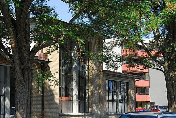 Architekturbüro Silke Hopf Wirth & Toni Wirth Architekten ETH HTL SIA Winterthur, Kindergarten Talwiesen Winterthur, Umbau / Umnutzung. AXA-Winterthur / Stadt Winterthur