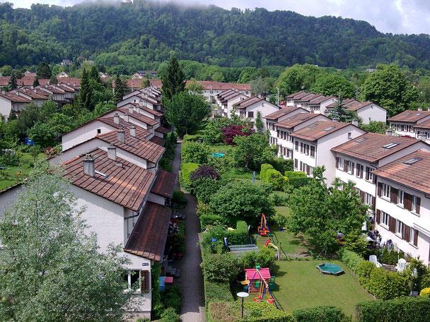 Hopf & Wirth Architekten ETH HTL SIA Winterthur: Sanierung FGZ Siedlung Etappe 13, Arbentalstrasse, Zürich, Auszeichnung Nachhaltig Sanieren der Stadt Zürich