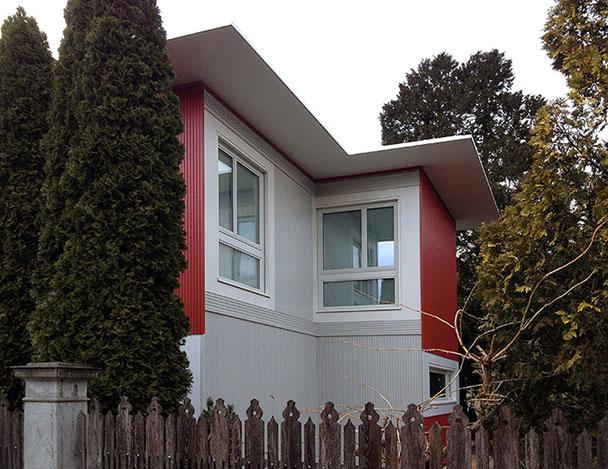 Architekturbüro Silke Hopf Wirth & Toni Wirth Architekten ETH HTL SIA Winterthur, Neubau Erweiterung Pension Bugatti Winterthur, Pension Bugatti AG