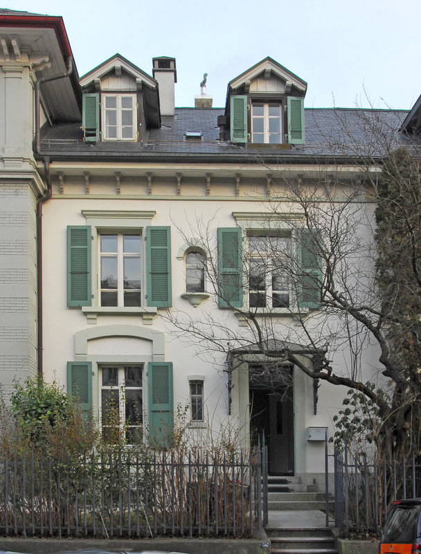 Architekturbüro Silke Hopf Wirth & Toni Wirth Architekten ETH HTL SIA Winterthur, 2008 Sanierung / Umbau Reiheneinfamileinehaus in Bern  privat