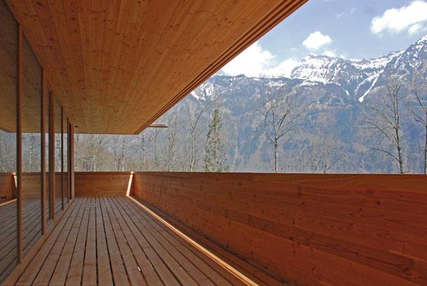 Architekturbüro Silke Hopf Wirth & Toni Wirth Architekten ETH HTL SIA Winterthur, Neubau Wohnhaus in Schwändi
