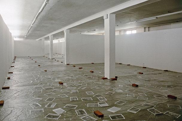 Daniel Schörnig  NEUE INFORMATION ÜBER EINE GESUCHTE PERSON, exhibition view