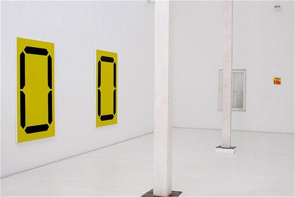 Daniel Schörnig  DISPLAY, 2008, exhibition view:  Brigitte March Gallery