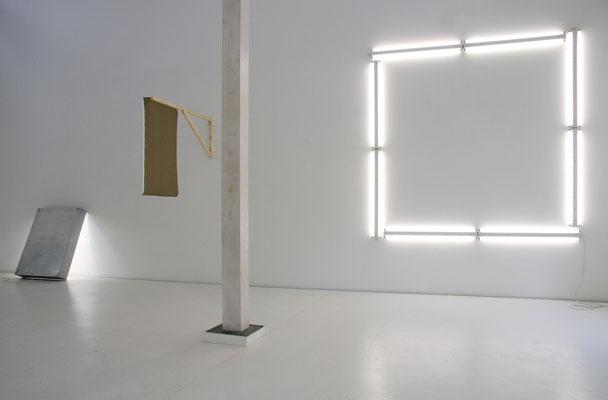 Daniel Schörnig  UNBENNANT, 2015  exhibition view:  Brigitte March Galerie, 2015
