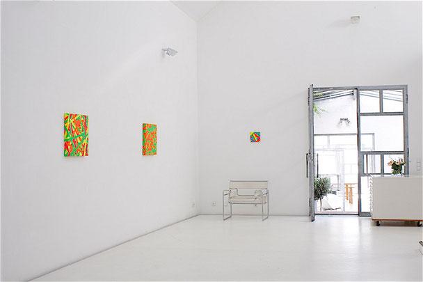 Daniel Schörnig  SIGNALS, 2018, exhibition view