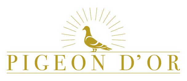 Van Bun Communicatie & Vormgeving -Logo ontwerp Pigeon d'Or