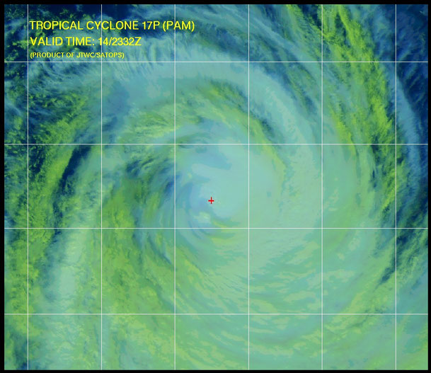 Tropical Cyclone Pam. From JTWC.