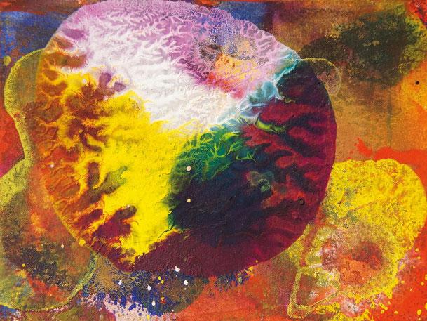 Kunstwerk INVASION auf ARTS IV als Acrylglas- oder Schattenfugenrahmen-Druck bestellen