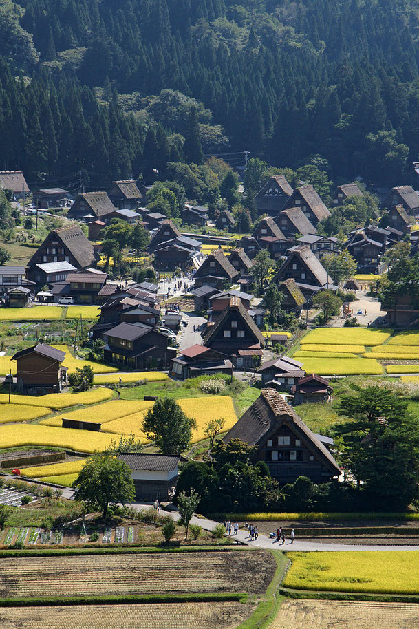 Shirakawa-go Source: wikipedia