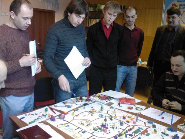 Курс-исследование в славном городе Москве (2009 год).