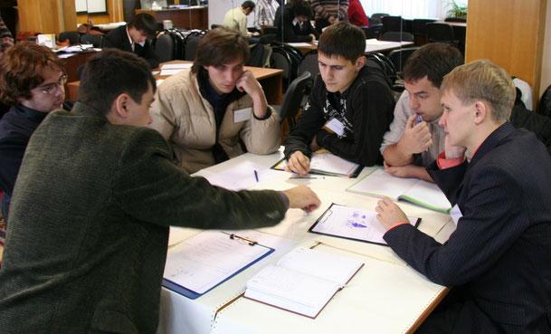 Курс-исслеование в славном городе Москве (2007 год).