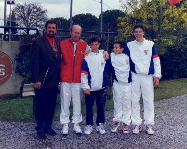 ANNO 1999 5° cl. FRANCIA - GASQUET RICHARD (3° da destra)