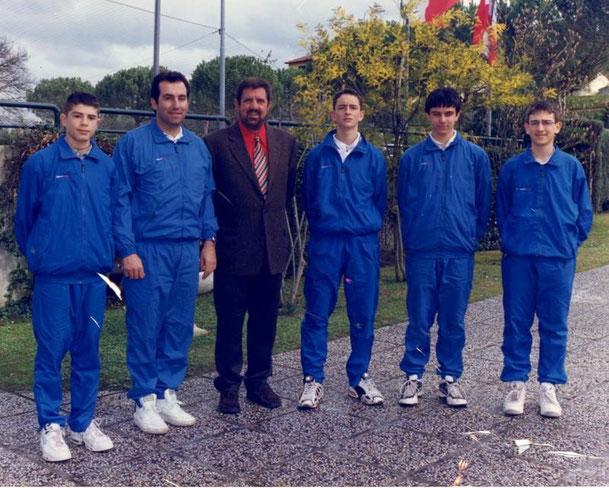 ANNO 1999 7° cl. ITALIA  - SIMONE BOLELLI (1° DA SINISTRA)