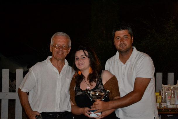 1° classificata Sani Silvia