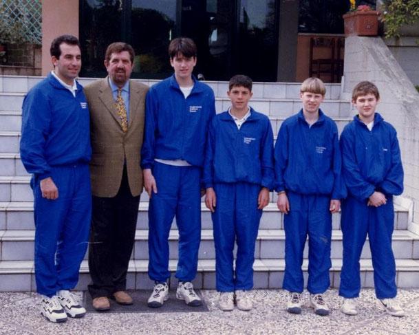 ANNO 1998 8° cl. ITALIA - SEPPI ANDREAS (2° da sinistra)