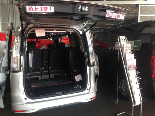 日産 ニッサン 日産部品 NV350 セレナ X-TRAIL トランポ トランポプロ 室内キャリア 車内キャリア ロッドホルダー 防水マット ラゲッジマット