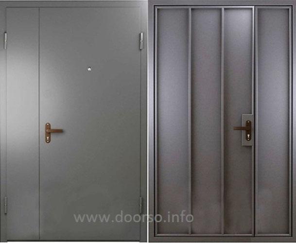 технические металлические двери.