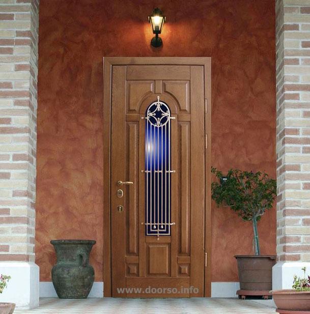 Металлические двери со стеклом в Одинцово.