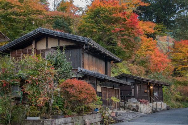 Autunno a Tsumago