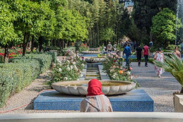 I giardini pubblici di Jnan Sbil