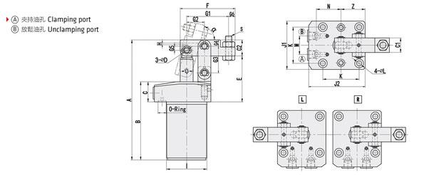 Zeichnung LHC01-Serie