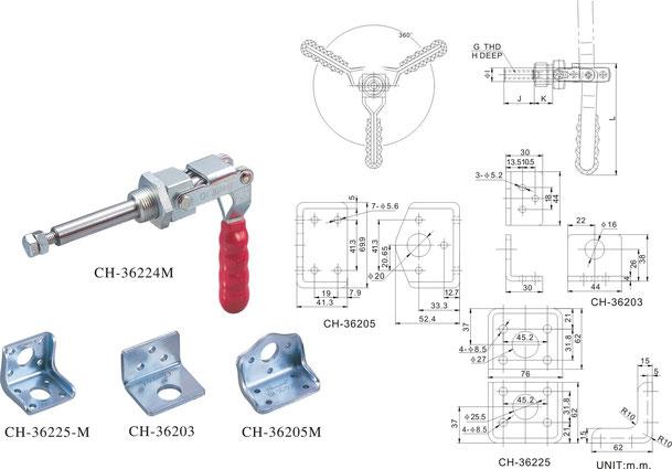 CH-36225-M CH-36203 CH-36205-M