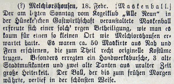 Syker Zeitung 19.02.1903