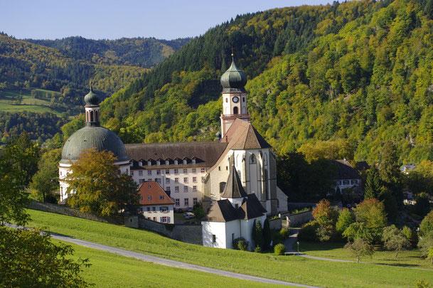 Kloster St.Trudpert im Münstertal Südschwarzwald
