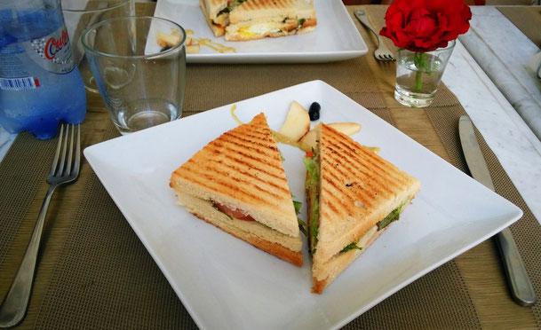 Club Sandwich Cafe Kremm Palais Khum