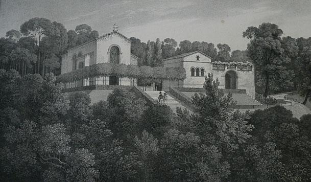 Pückler, Andeutungen über Landschaftsgärtnerei, Grabkapelle