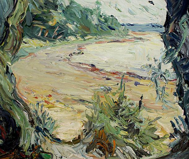 Rosenhagen   1999, Öl auf LW, 46 cm x 55 cm