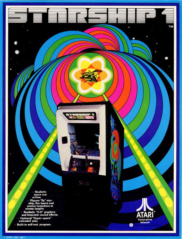 Starship 1 arcade