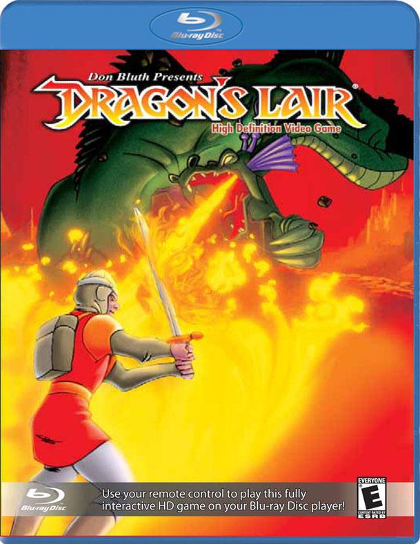 Dragons lair -blu ray