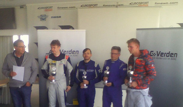 Dennis Bröker und Lucian Aron Pfister Racing 2.Platz beim 3.Lauf ADAC Logan Cup 2018
