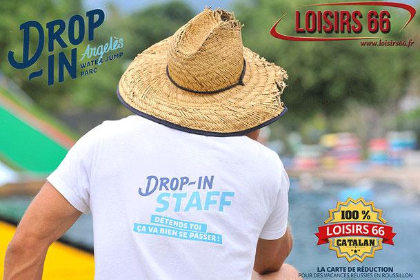 Drop in Water jump Argeles Loisirs66.fr la carte de réduction