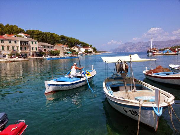 Croatia, Island Brac, Brac, Povlja, Apartments Povlja, Apartments Gracin, Holiday Apartments